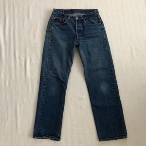 Vintage USA Levi's 501 Button Fly High Waist Jeans